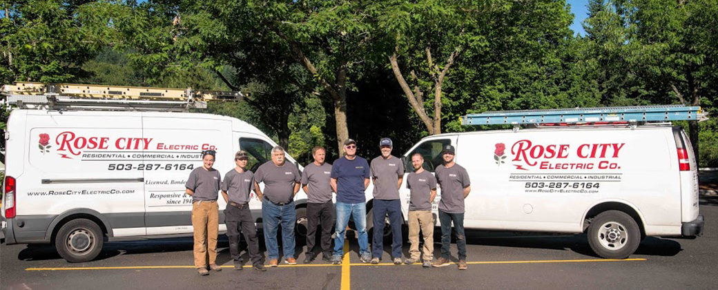 portland electricians, rose city electric employees